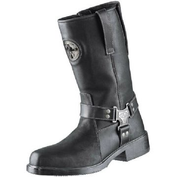 Held Nevada 2 Waterproof Leather Motorcycle Motorbike Cowboy Retro Boots - Black
